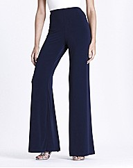 Jersey Palazzo Trousers 25 Inch