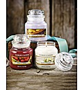 Yankee Candle Small Jars Set of 3
