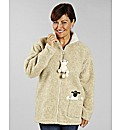 Dangly Sheep Fleece Jacket