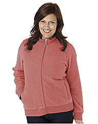 Micro Fleece Jacket with Zip Front