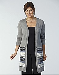 Longline Cover Up Cardigan