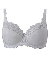 Shapely Figures White Full Cup Ruby Bra