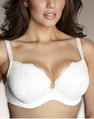 Pack of 2 Underwired Padded Plunge Bras