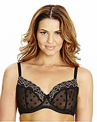 Shapely Figures Onyx Full Cup Bra