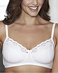 Shapely Figures Pack of 2 Cotton Bras