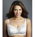 Shapely Figures White Black Ruby Bras