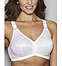 Glamorise Front Fastening Non-Wired Bra