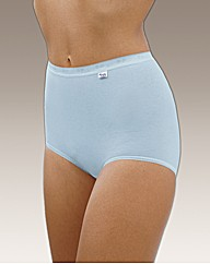 Triumph Sloggi Pk6 Basic Maxi Briefs
