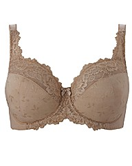 ShapelyFigures Neutral Full Cup Ruby Bra