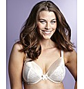 Simply Yours Satin And Lace Plunge Bra