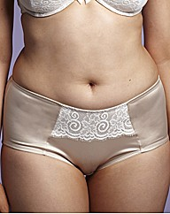 Simply Yours Satin And Lace Knickers