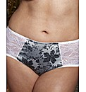Splendour Satin Print Knickers