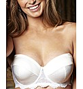 Splendour Satin Padded Multiway Bra