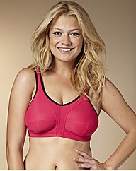 Naturally Close Hot Pink Sports Bra