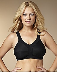 Naturally Close Black Sports Bra