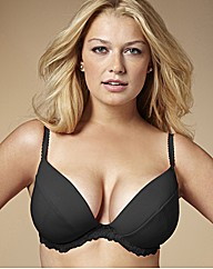 Naturally Close Black Curve Enhancer Bra