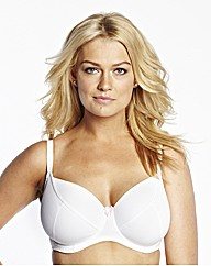 White Super Soft Comfort Bra