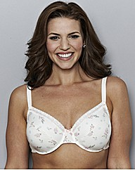 Shapely Figures Full Cup Cotton Mix Bra