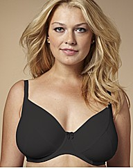 Black Super Soft Comfort Bra