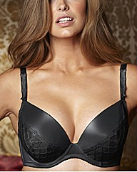 Splendour Diamante Trim Plunge Bra