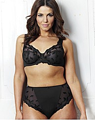 Ava Black White Full Cup Bra Pack