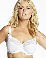 Naturally Close White Minimiser Ruby Bra