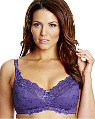 Shapely Figures Blue Purple Ruby Bras