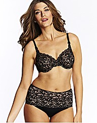 Simply Yours Black Underwired Bra