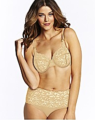 Simply Yours Champagne Underwired Bra