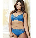 Shapely Figures Teal Full Cup Bra