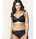 Shapely Figures Black Full Cup Bra