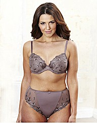 Ava Mocha Midnight Plunge Bra Pack