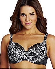 Shapely Figures Print Petrol Lucy Bras
