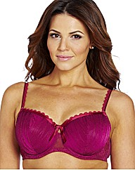 Shapely Figures Burgundy Ivory Bra Pack