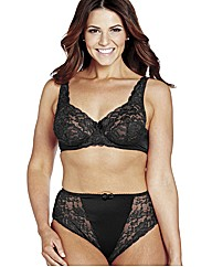 Shapely Figures Black White FullCup Bras