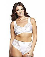ShapelyFigures Black White NonWired Bras