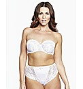 Shapely Figures White Multiway Bra