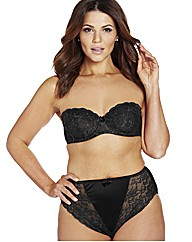 Shapely Figures Black Multiway Bra
