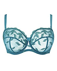 Teal World Largest Strapless Bra