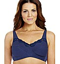 Shapely Figures Navy Ivory Sarah Bras