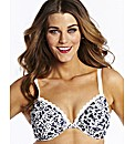 Simply Yours Navy White Plunge Bras