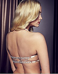 Splendour GoldMultiway Diamante Back Bra