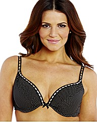 Shapely Figures Cherry Black Julie Bras