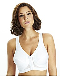 Glamorise White Back Support Bra