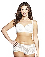 Shapely Figures Ivory Black Bra Pack