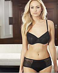 Black Splendour Underwired Full Cup Bra