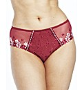 Simply Yours Daisy Embroidered Knicker