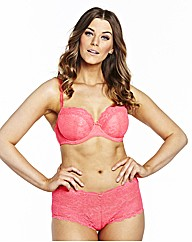 Simply Yours Bluebell Coral Balcony Bras