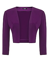 Vera Mont Jersey Crepe Bolero Jacket