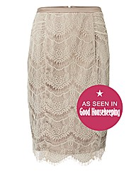 Montique Cobweb Lace Skirt